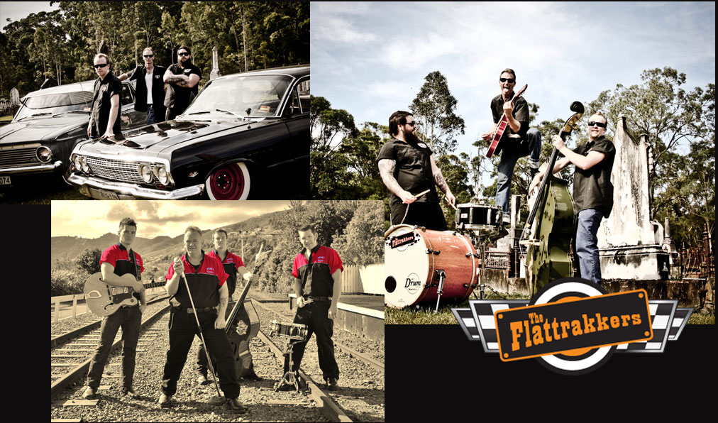Krazy Katz and Flattrakers have both confirmed in our line up of great bands!